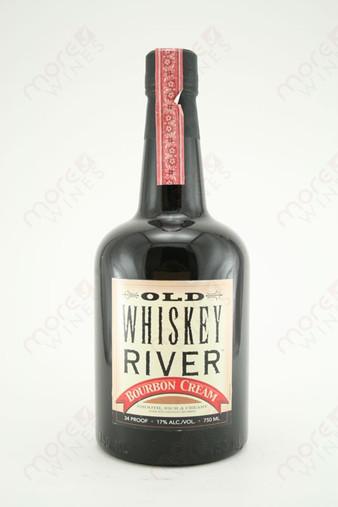 Old Whiskey Rivier Bourbon Cream Liqueur 750ml