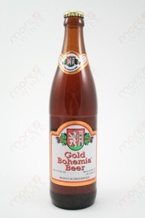 Gold Bohemia Beer 16.9fl oz