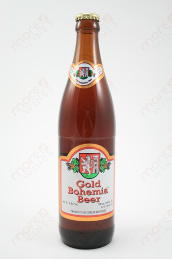 Gold Bohemia Beer 16.9fl oz