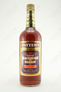 Potter's Blackberry and Brandy Liqueur 1L