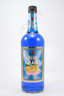 Potter's Blue Curacao Liqueur 1L