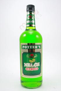 Potter's Melon Liqueur 1L