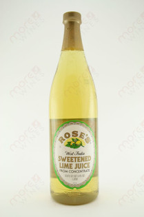 Rose's Sweetened Lime Juice Mix 1L