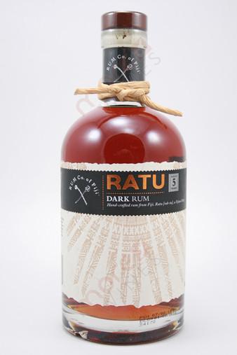 Ratu Dark Fijian Rum 750ml