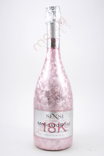 Sensi Pure 18K Gold Sparkling Moscato Rose 750ml