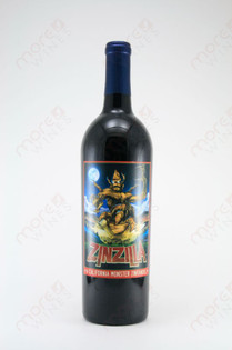 Zinzilla California Monster Zinfandel 2007 750ml