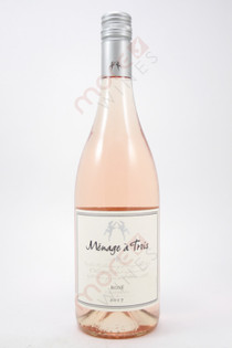 Menage a Trois Rose Wine 750ml