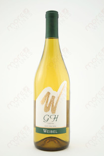 GH White Table Wine Weibel Chardonnay 750ml
