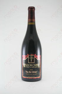 "Wilson Creek ""You Bet Shiraz"" 2005 750ml"