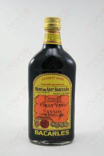 Bacarles Gran Vino Sanson Dessert Wine