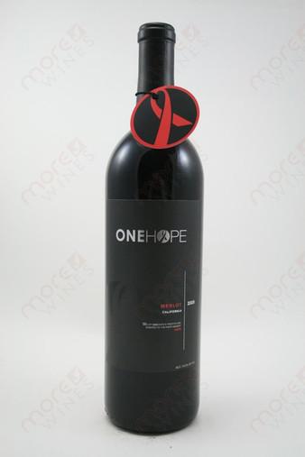 One Hope Merlot 2009 750ml