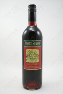Sweet Sunset Red Chocolate Wine