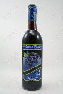 St. James Blueberry Sweet Wine