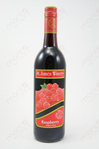 St. James Raspberry Sweet Wine