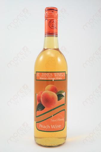 St. James Peach Wine 750ml