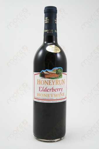 Honey Run Elderberry Honey Wine 750ml