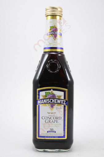 Manischewitz Concord Grape 750ml