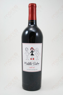 Middle Sister Red Wine 750ml