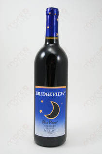 Bridgeview Blue Moon Merlot 2008 750ml