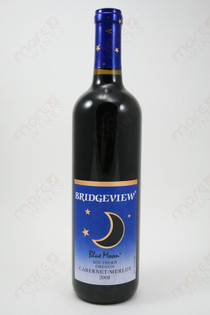 Bridgeview Blue Moon Cabernet/Merlot 2008 750ml