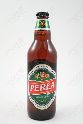 Perla Chmielowa Pils Beer 16.9fl oz