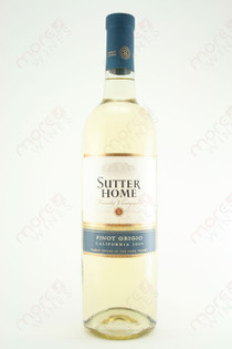 Sutter Home Napa Valley Pinot Grigio 2009 750ml