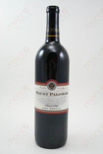 Mount Palomar Merlot 750ml