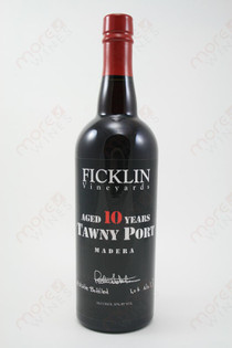 Ficklin 10 Year Old Tawny Port 750ml