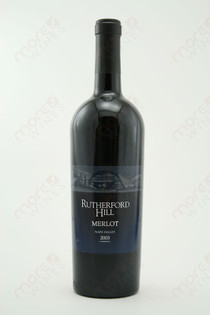Rutherford Hill Napa Valley Merlot 2004 750ml