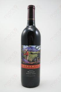 Dynamite Vineyards North Coast Merlot 2002 750ml