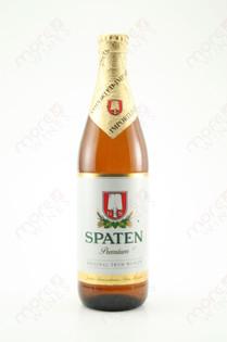 Spaten Premium Malt Liquor 16.9 fl oz