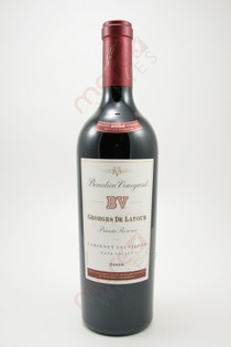 Beaulieu Vineyard Georges De Latour Private Reserve Napa Valley Cabernet Sauvignon 2008 750ml