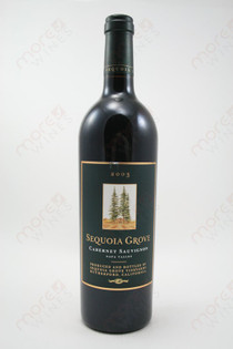 Sequoia Grove Napa Valley Cabernet Sauvignon 2003 750ml