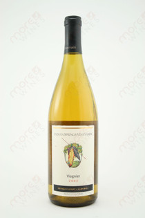 Indian Springs Vineyards Viognier 2002 750ml