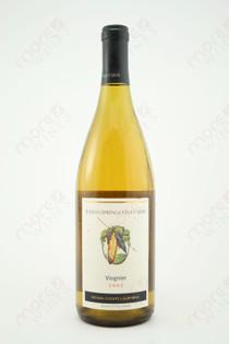 Indian Springs Vineyards Viognier 2002 750ml