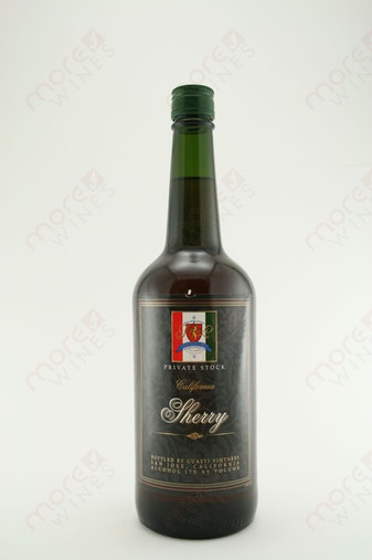 Private Stock Sherry 750ml