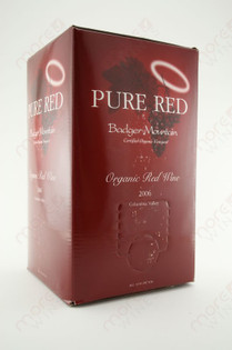Badger Mountain Red Wine Organic 3L