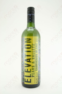 Elevation Peaks & Valleys South Coast Sauvignon Blanc 750ml