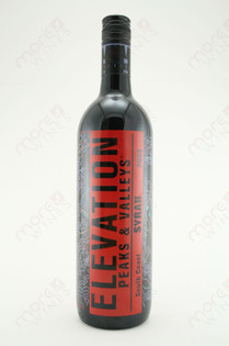 Elevation Peaks & Valleys Syrah 750ml
