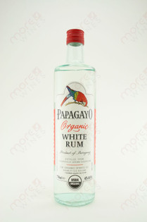 Papagayo Organic White Rum 750ml