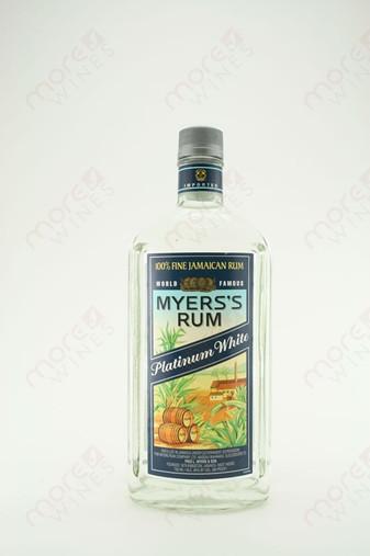 Myers's Platinum White Rum 750ml
