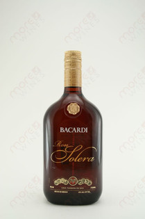 Bacardi Ron Solera Rum 750ml