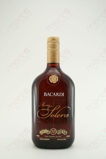 Bacardi Ron Solera Rum 750ml