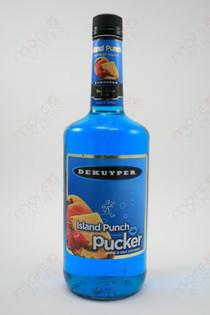 Dekuyper Island Punch Pucker Schnapps 1L