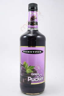 Dekuyper Grape Pucker Schnapps 1L
