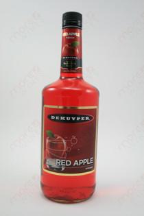 Dekuyper Red Apple Schnapps 1L