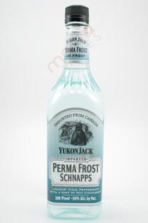 Yukon Jack Perma Frost 100 Proof Schnapps 750ml