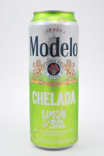 Modelo Chelada Limon y Sal 24fl oz