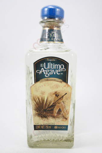 El Ultimo Agave Blanco Tequila 750ml