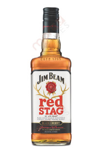 Jim Beam Red Stag Black Cherry Bourbon Whiskey 750ml